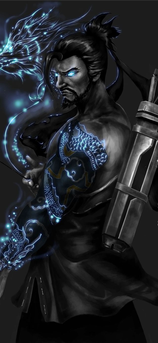 Hanzo iPhone 11 wallpaper