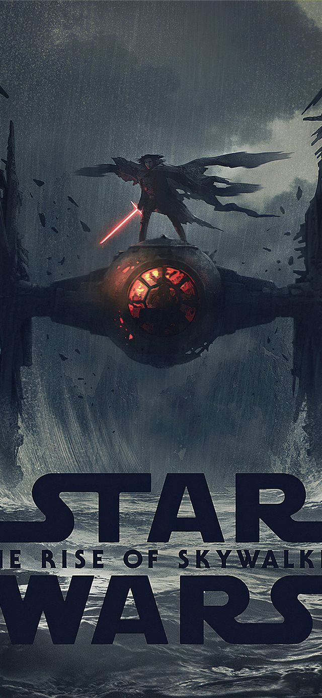 kylo ren in star wars iPhone 11 wallpaper