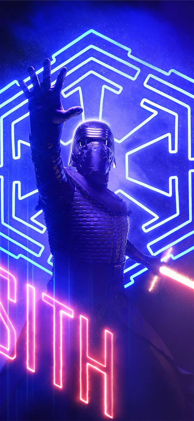 kylo renart4k iPhone 11 wallpaper