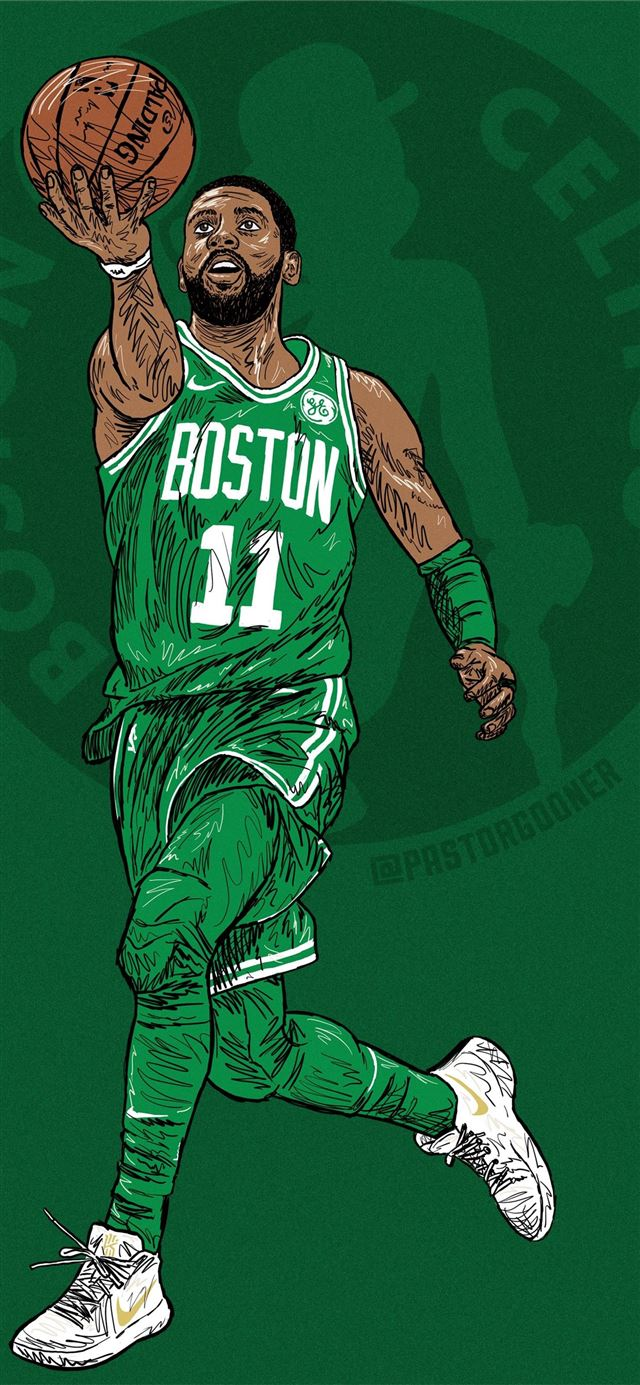 Kyrie Irving u GoonerLivesMatter iPhone X wallpaper