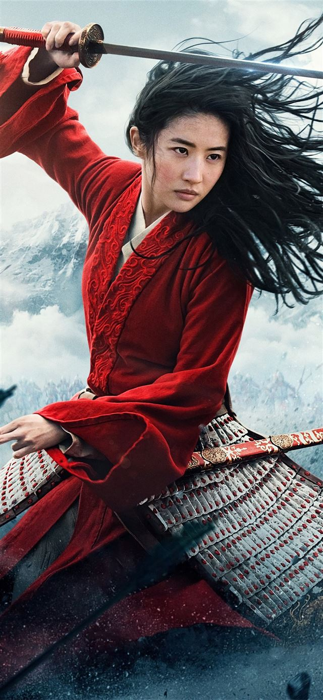 mulan 2020movie iPhone 11 wallpaper