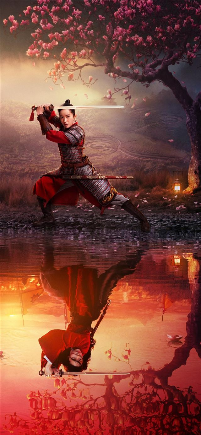 mulan movie 2020 poster iPhone 11 wallpaper