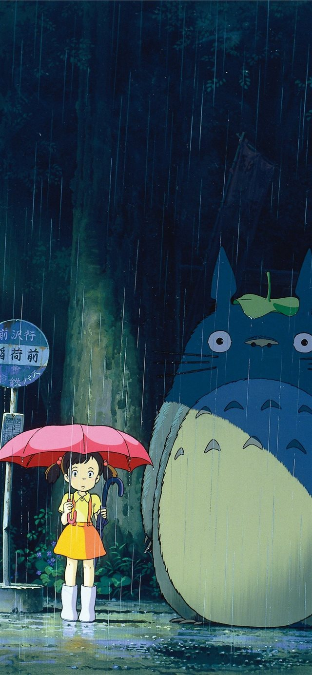 My Neighbor Totoro Phone in 2020 iPhone 11 wallpaper
