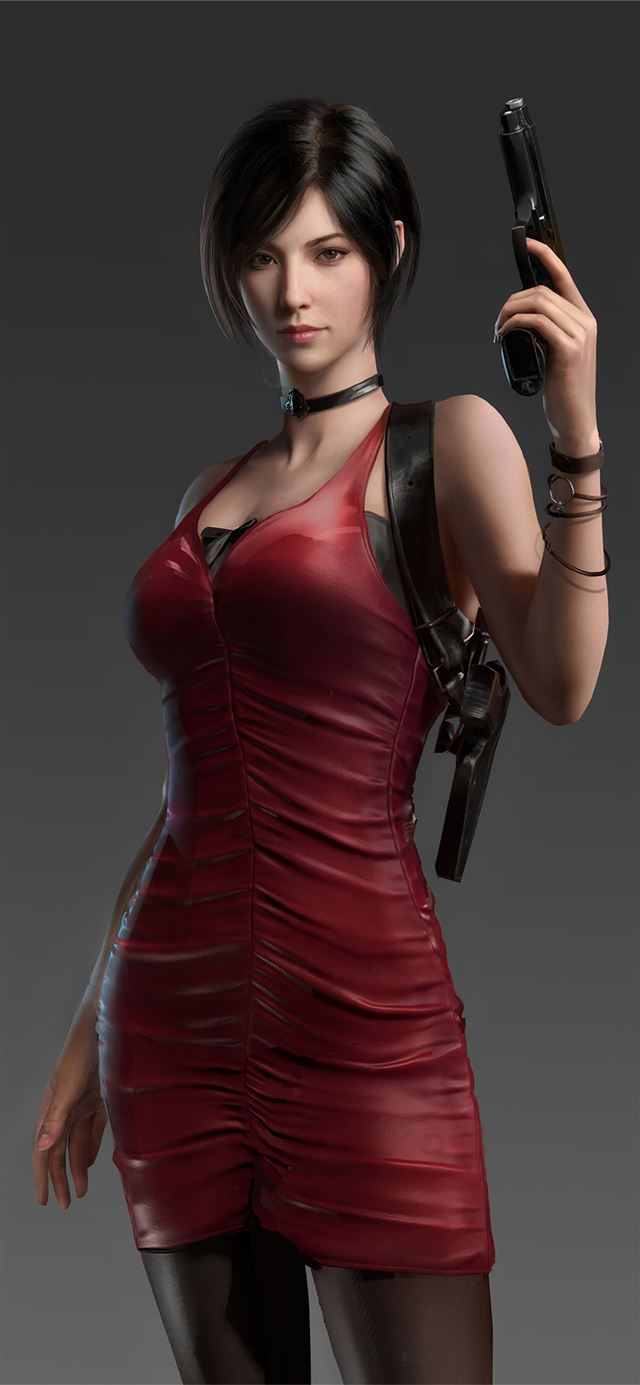 resident evil ada wong 4k iPhone X wallpaper