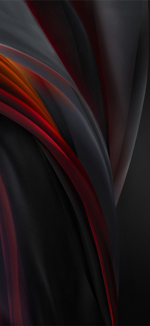 iphone se 2020 stock wallpaper Silk Red Mono Dark iPhone 11 wallpaper