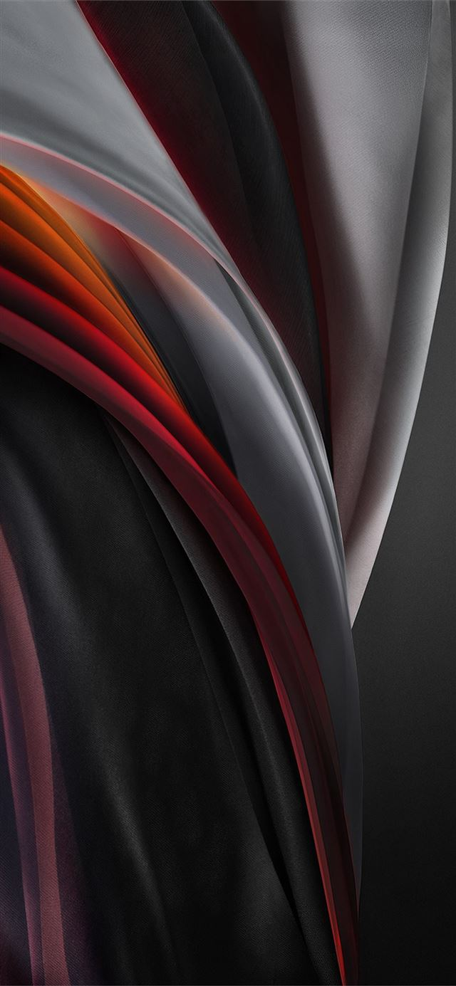 iphone se 2020 stock wallpaper Silk Red Mono Light iPhone X wallpaper