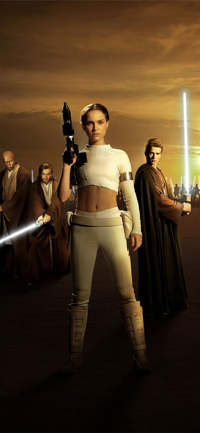 star wars episode ii attack of the clones natalie ... iPhone 11 wallpaper