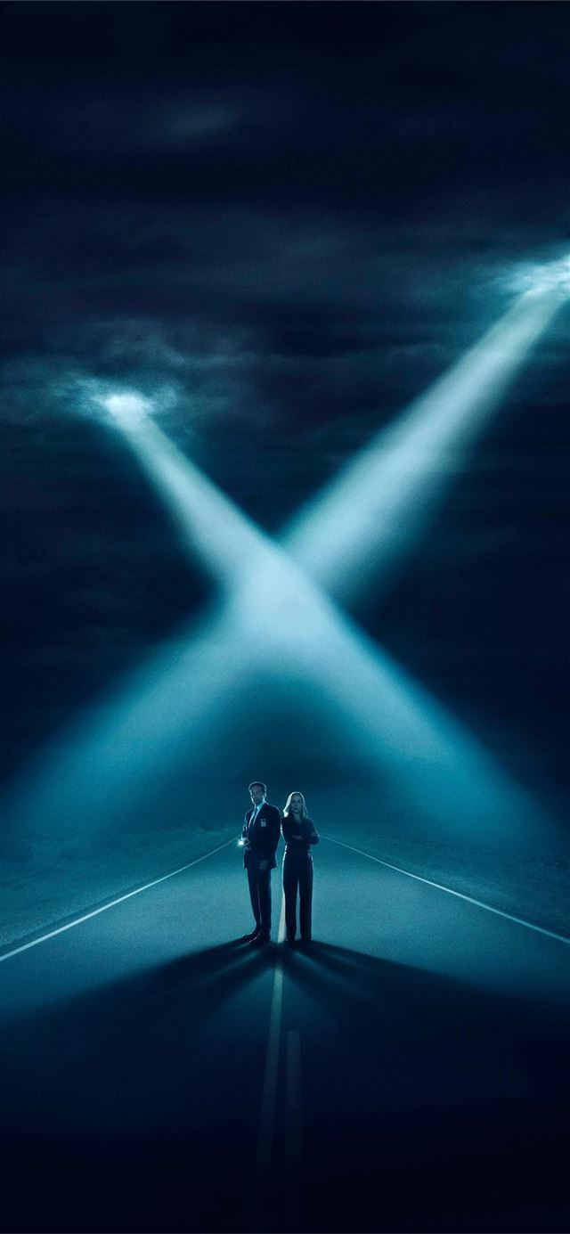 The X Files Phone iPhone 11 wallpaper