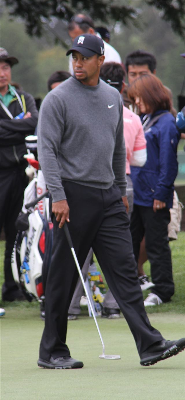 Tiger Woods – In Write Field iPhone 11 wallpaper