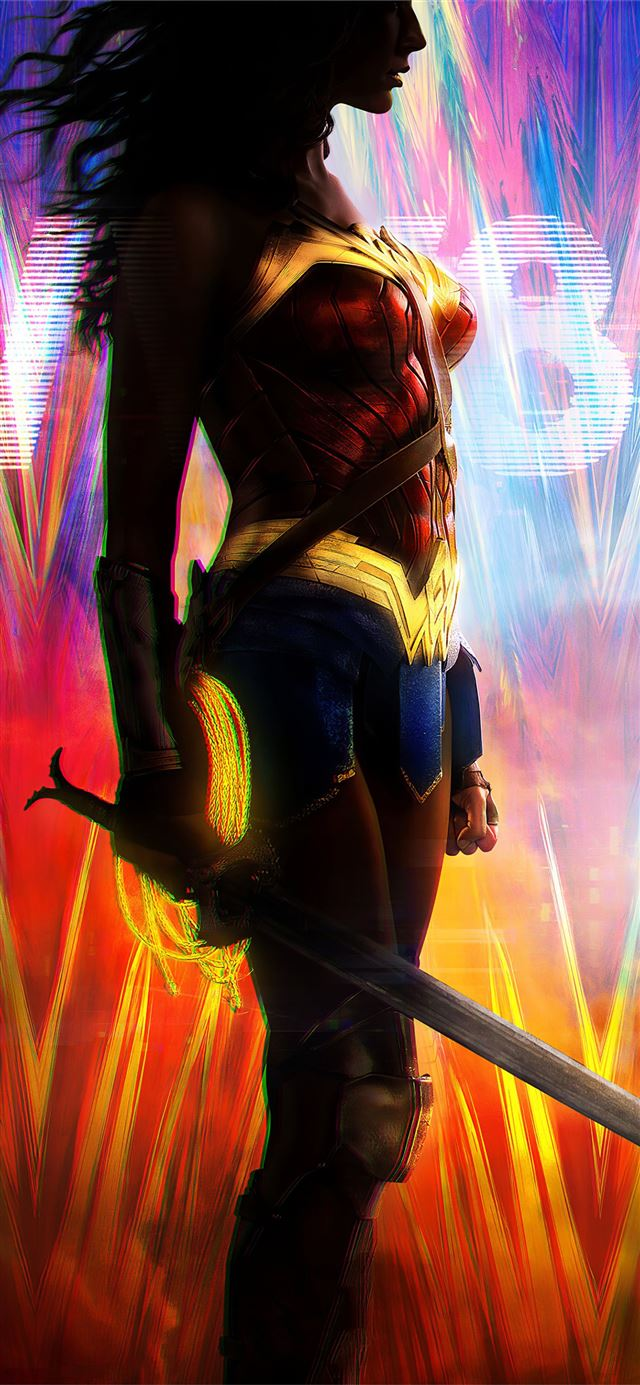 wonder woman 1984 digital art 4k iPhone 11 wallpaper