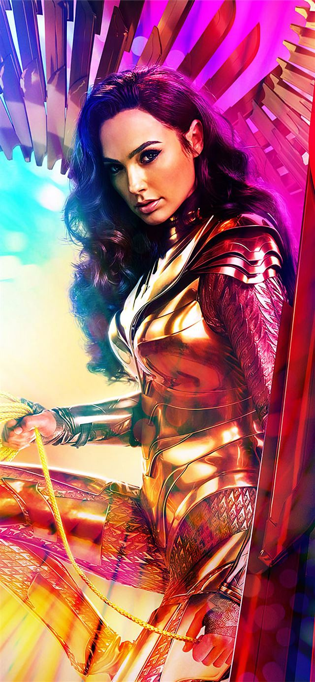 wonder woman wide poster 5k iPhone X wallpaper