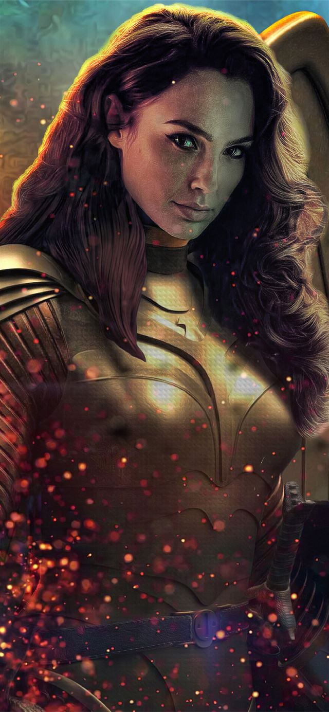 wonder woman1984 movie iPhone 11 wallpaper