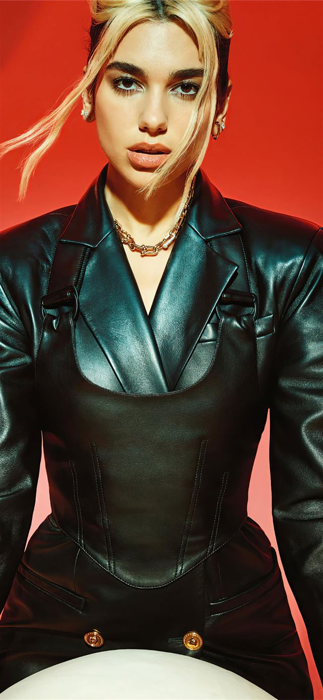 2020 dua lipa vogue australia 4k iPhone X wallpaper