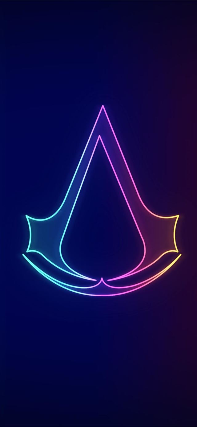 assassins creed neo logo 4k iPhone X wallpaper