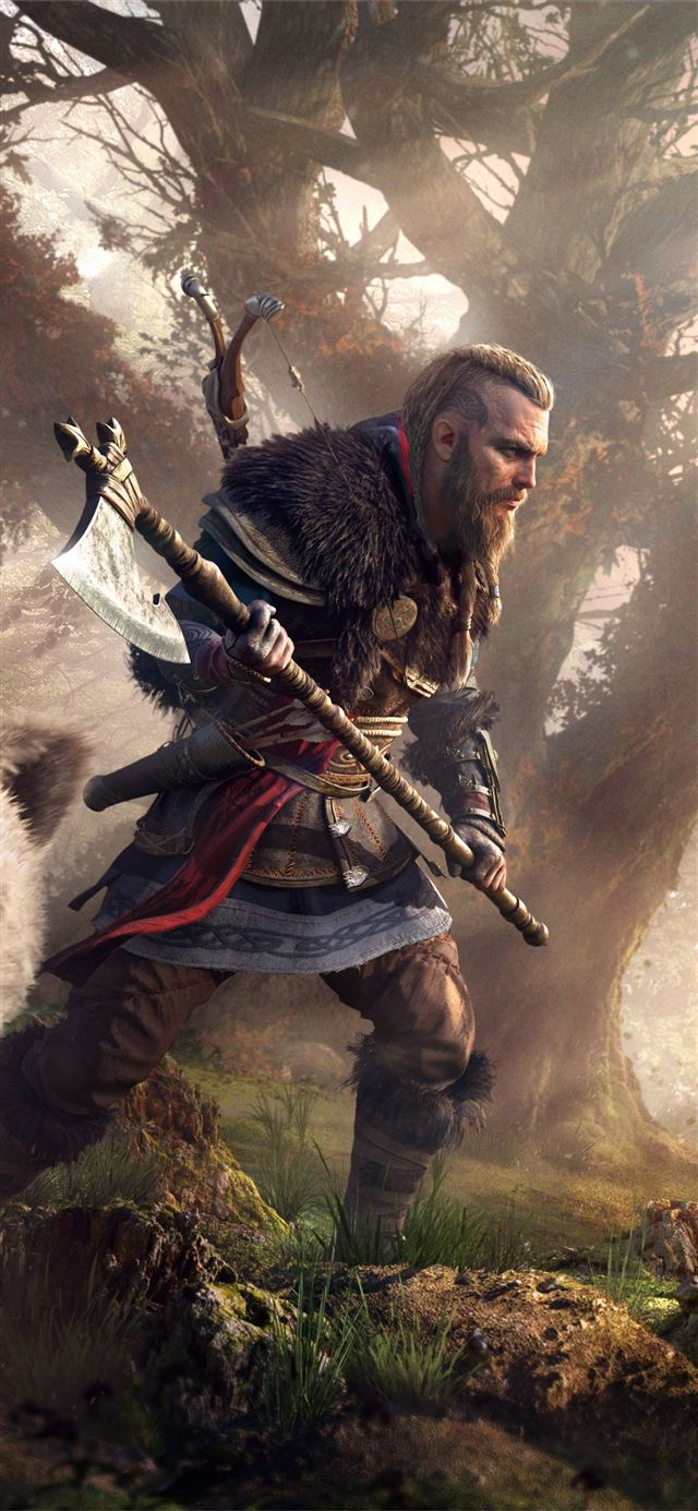assassins creed valhalla 2020 5k iPhone X wallpaper