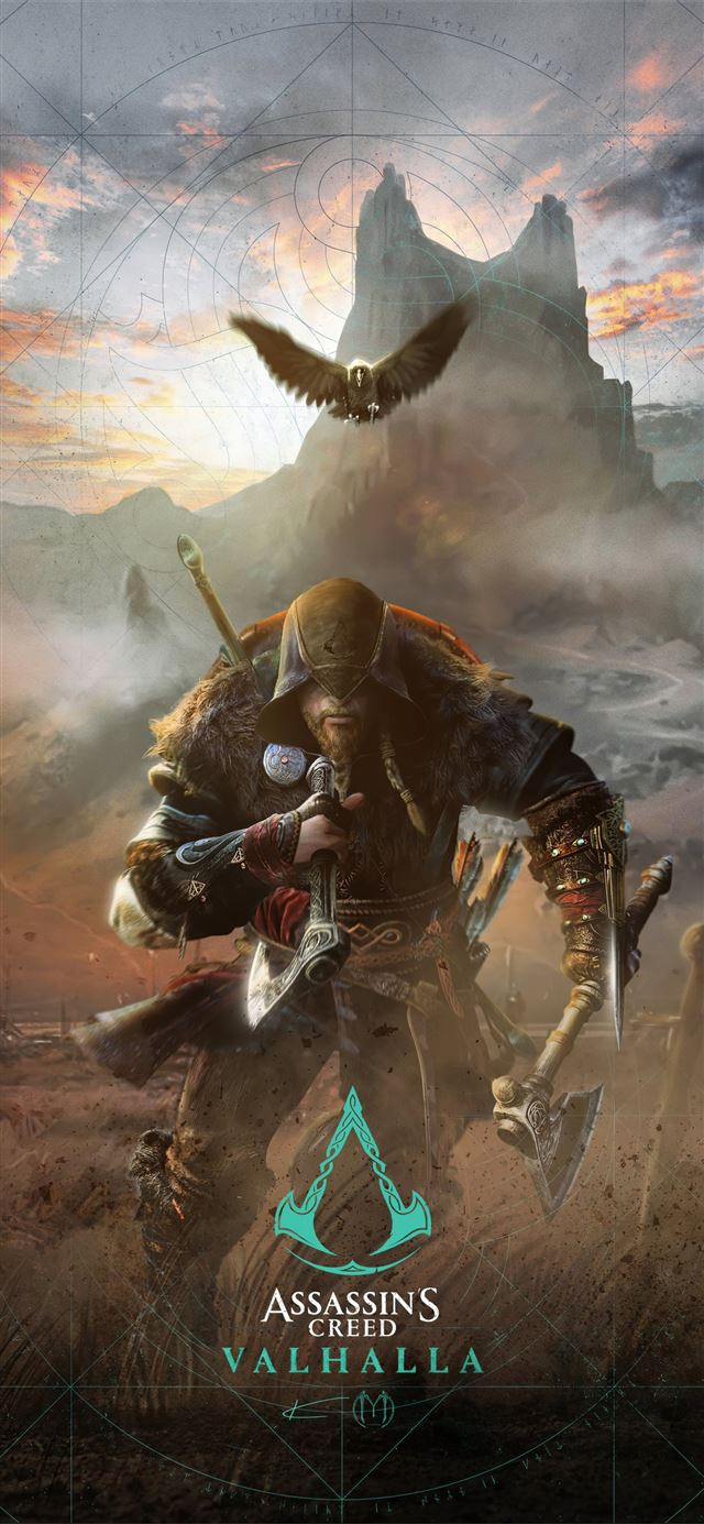 assassins creed valhalla game 2020 iPhone X wallpaper