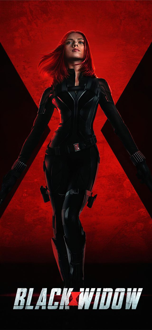 black widow 2020 4k movie iPhone X wallpaper