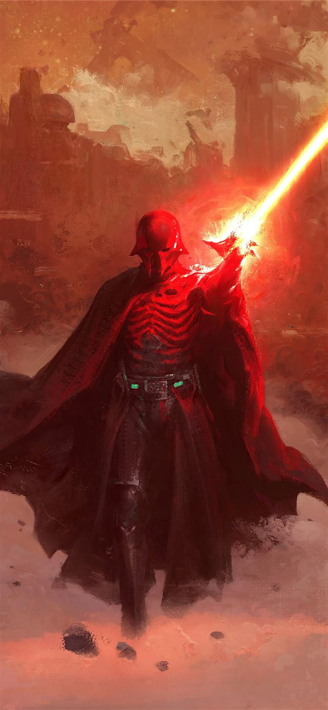 darth vader coming iPhone X wallpaper