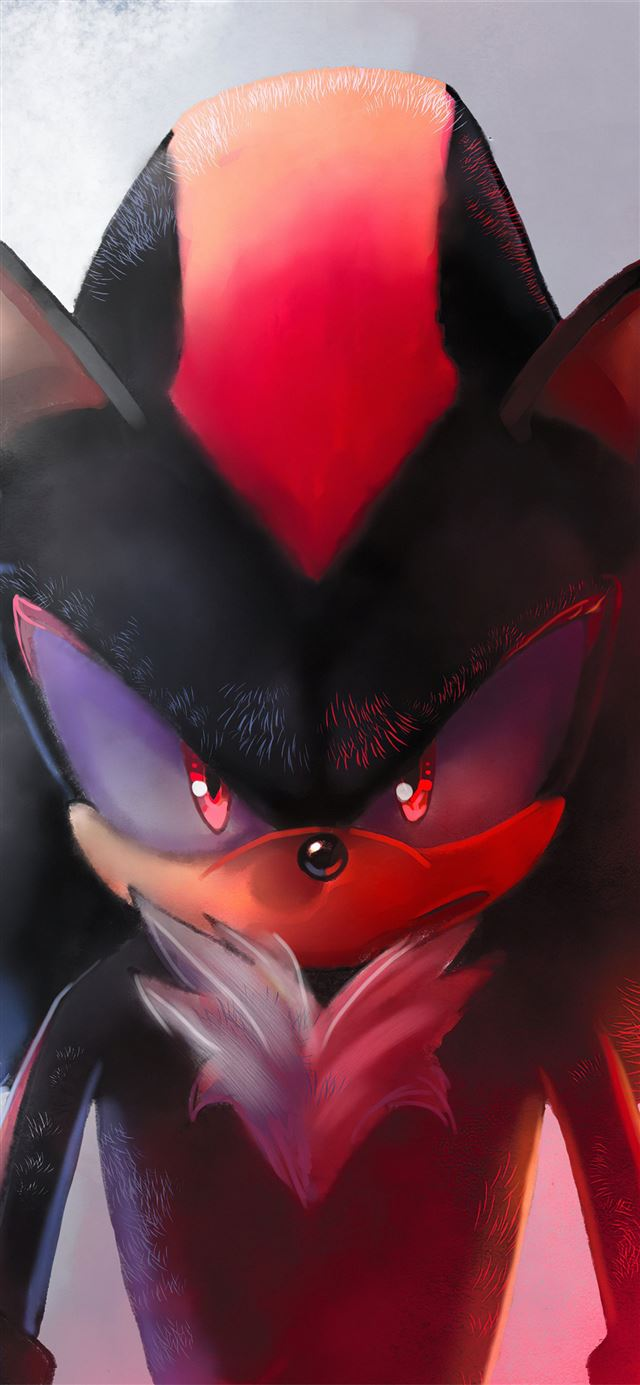 evil sonic the hedgehog iPhone X wallpaper