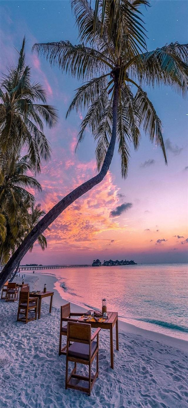 Maldives iPhone X wallpaper