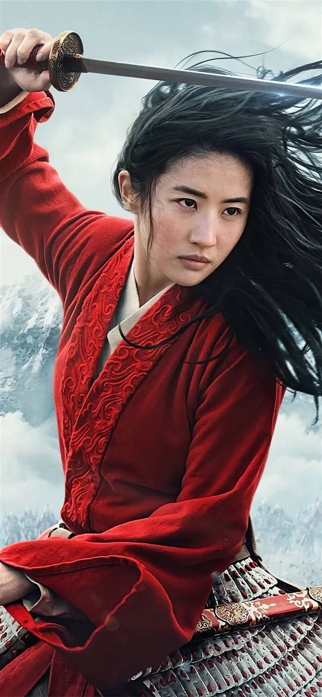 mulan 2020 movie iPhone X wallpaper