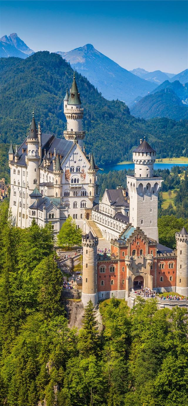 Neuschwanstein Castle iPhone 11 wallpaper