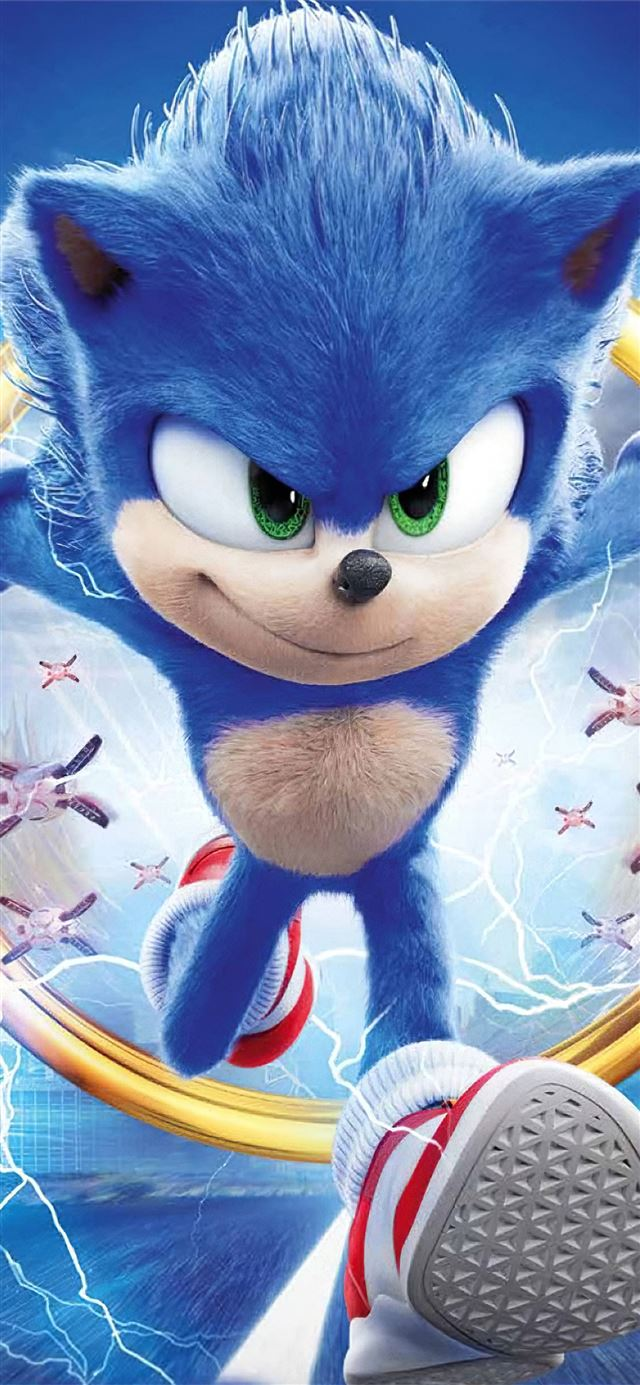 sonic the hedgehog movie new iPhone 11 wallpaper