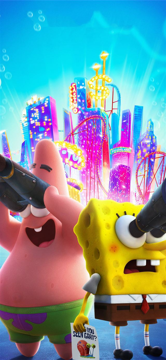 the spongebob movie sponge on the run 2020 iPhone X ...