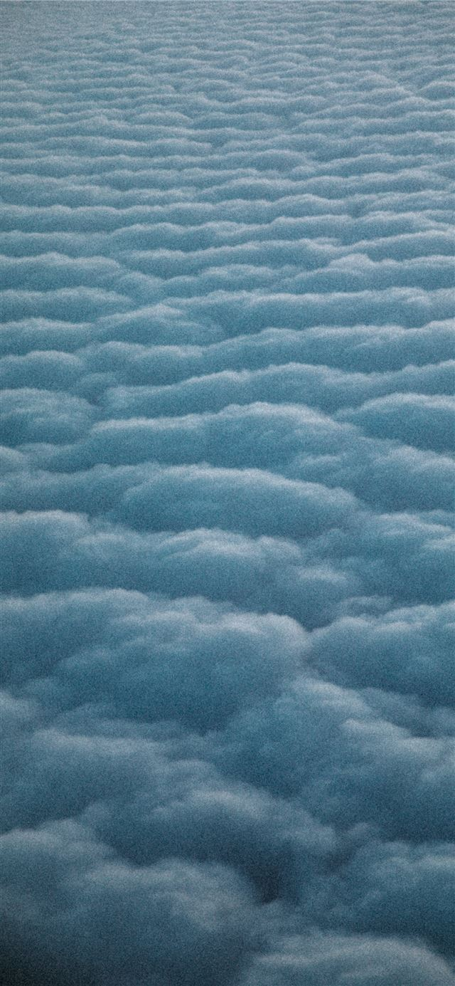 white clouds during day time iPhone 11 wallpaper