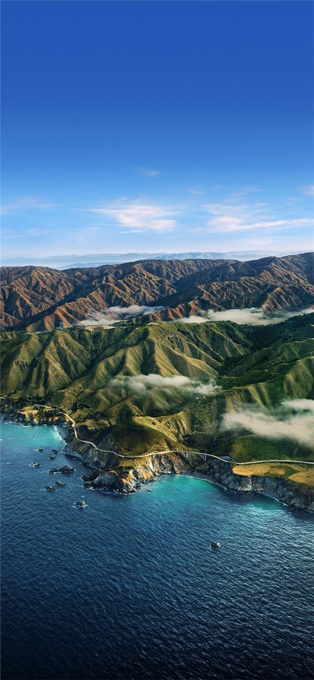 Big Sur iPhone 11 wallpaper