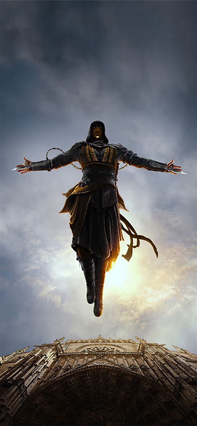 mortal kombat x assassins creed iPhone 11 wallpaper