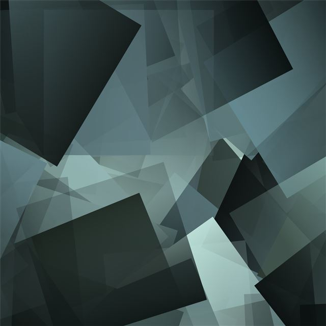 rave cube geometry square 4k iPad Pro wallpaper