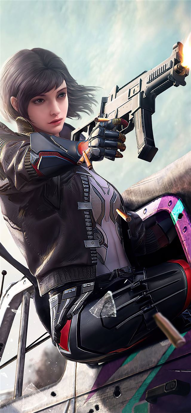 2020 pubg girl 4k game iPhone 11 wallpaper
