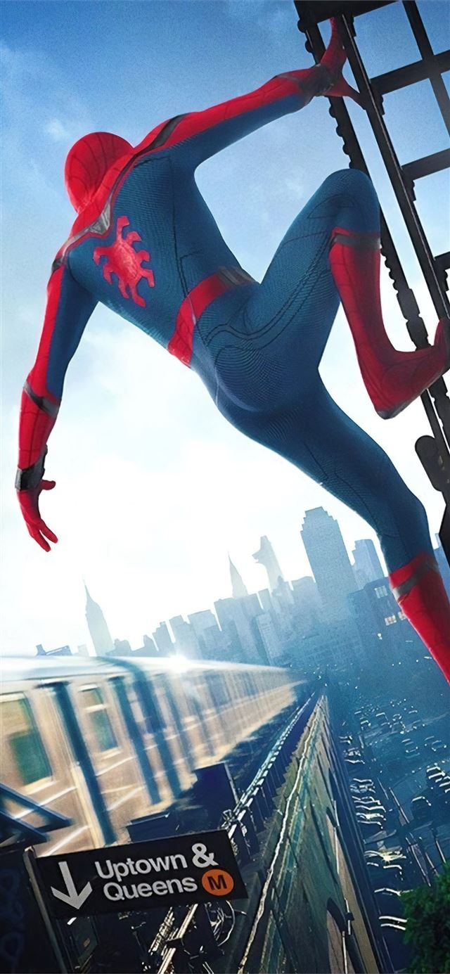 spider man homecoming 8k iPhone 11 wallpaper