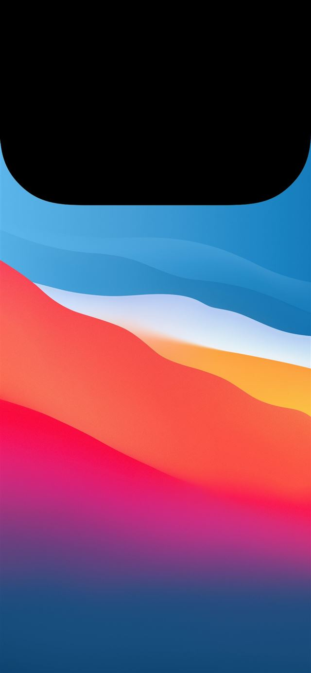 MacOS Big Sur Light for Widgets by AR7 iPhone 11 wallpaper